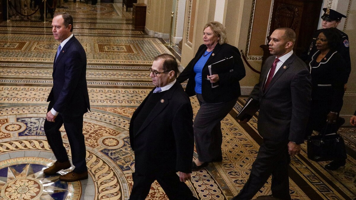 Senate Democrats call for impartiality while declaring Trump guilty