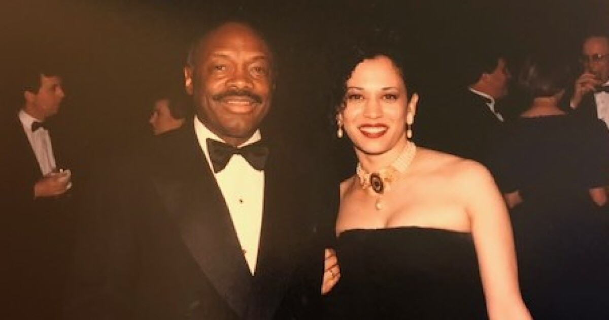 Kamala Harris Launched Political Career With 120k Patronage Job From Boyfriend Willie Brown