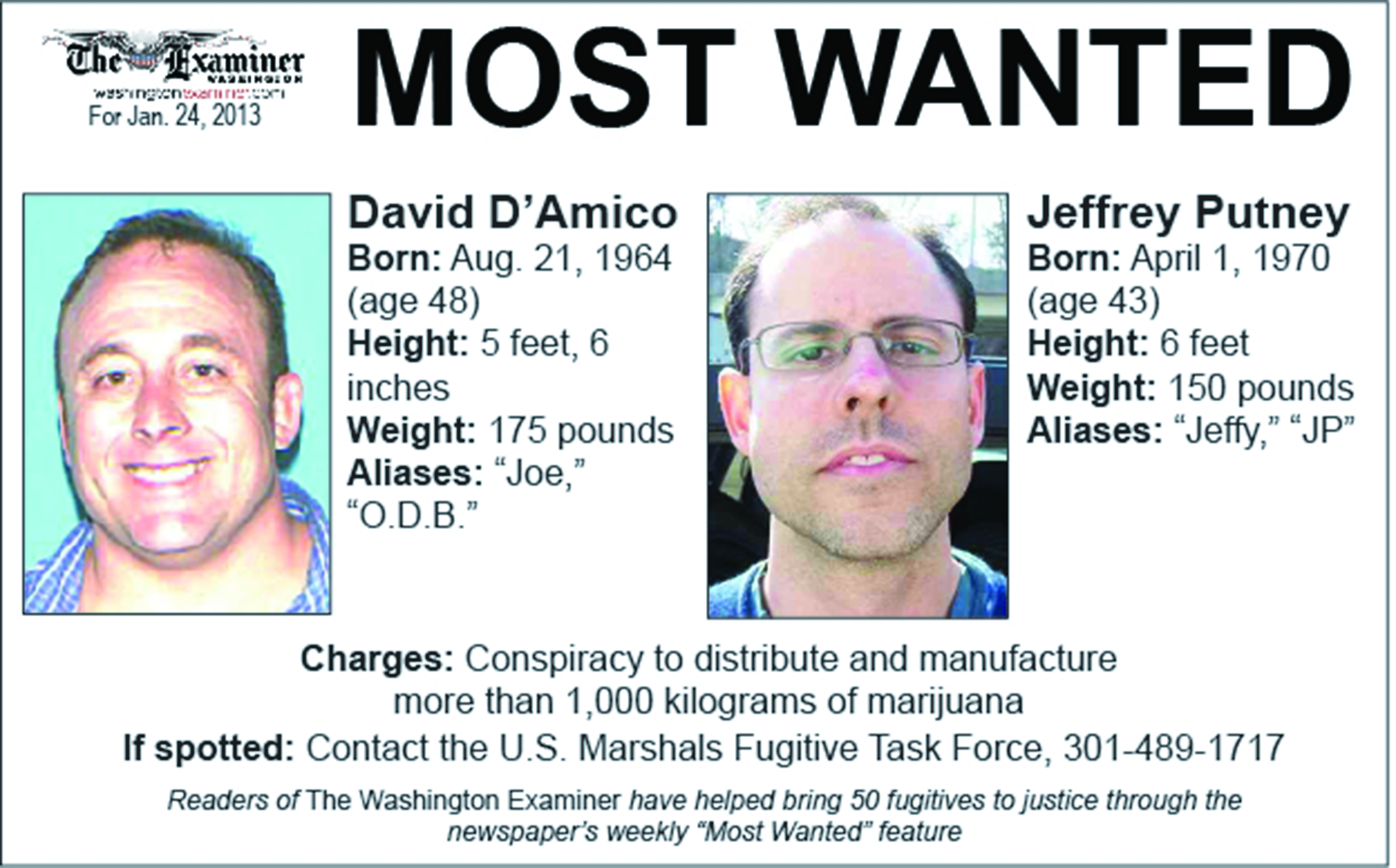 Most Wanted: 2 more fugitives sought in massive drug operation