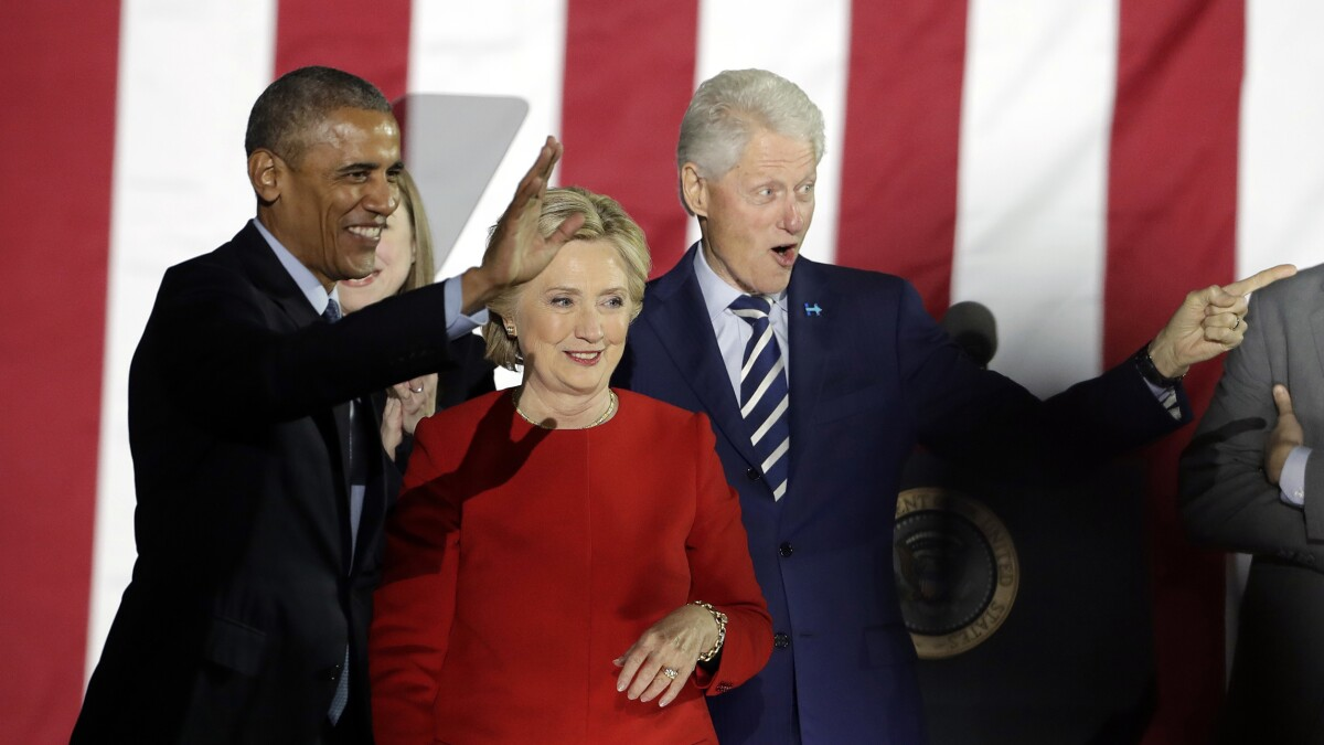 Obama, Clintons gave us Trump and the 2020 clown car