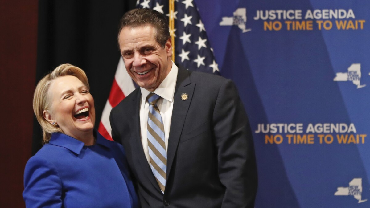 Hillary Clinton thanks Andrew Cuomo for 'making responsible decisions to keep people safe'