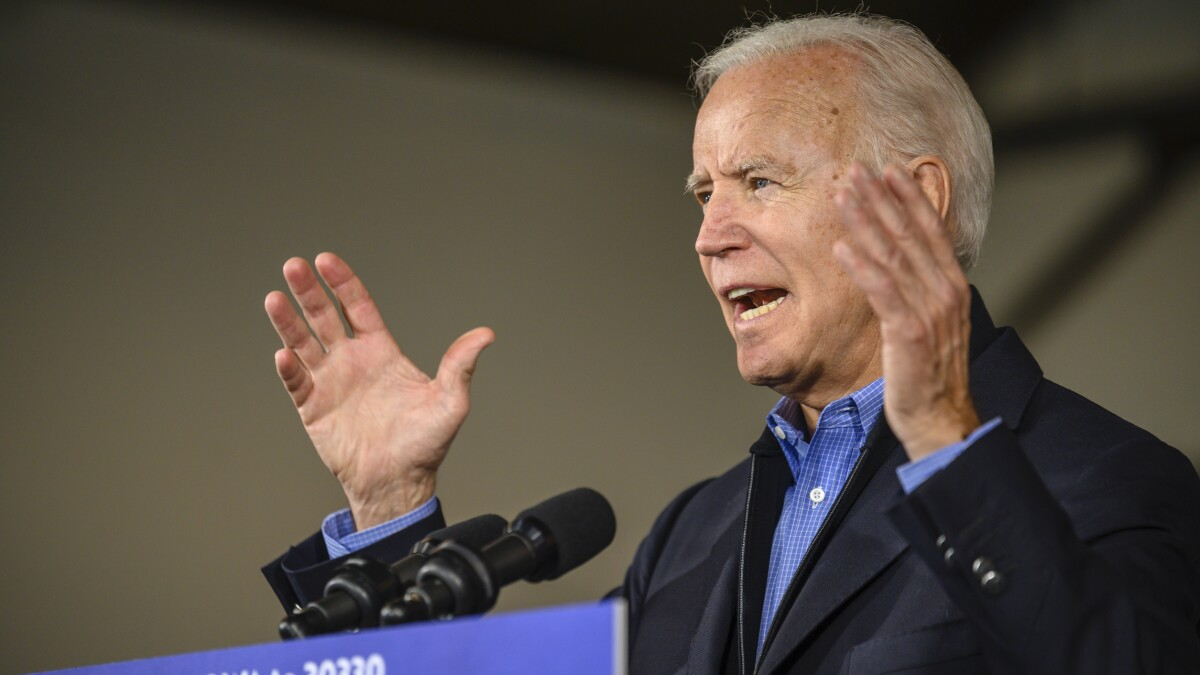 Voter attacked by Biden calls him 'senile' and says he should drop out of 2020 race