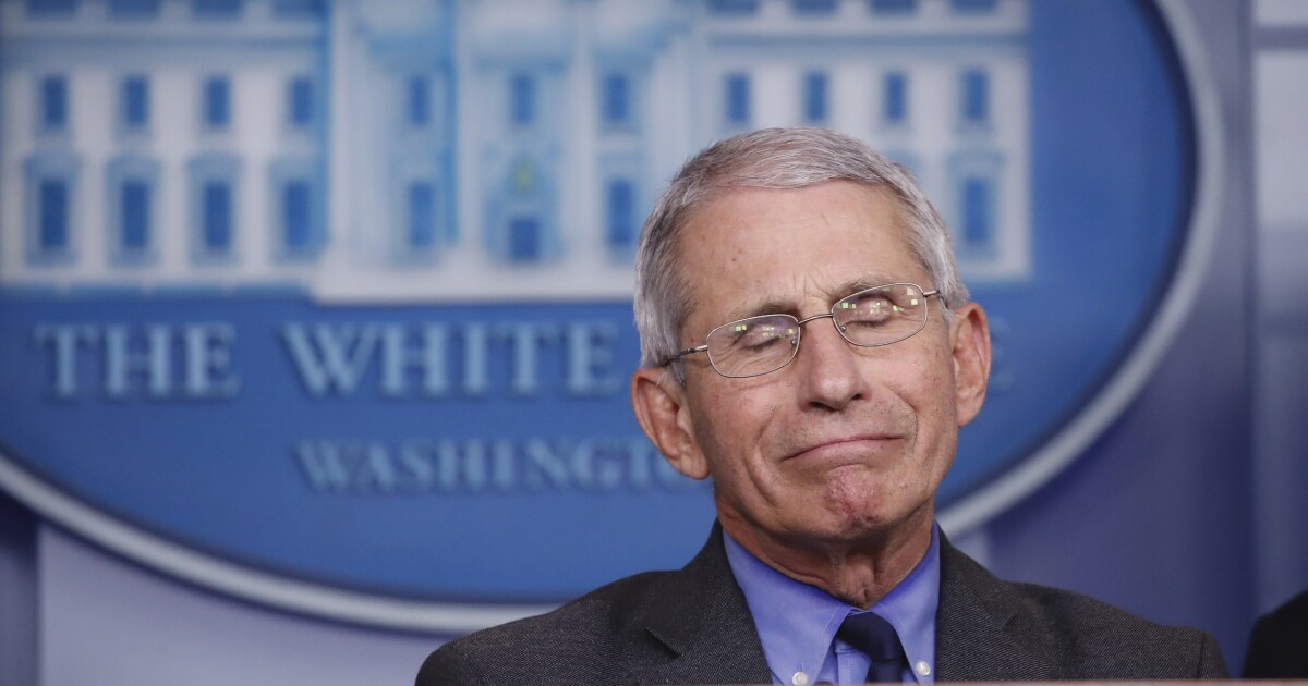 Fauci lies about lying about the efficacy of masks