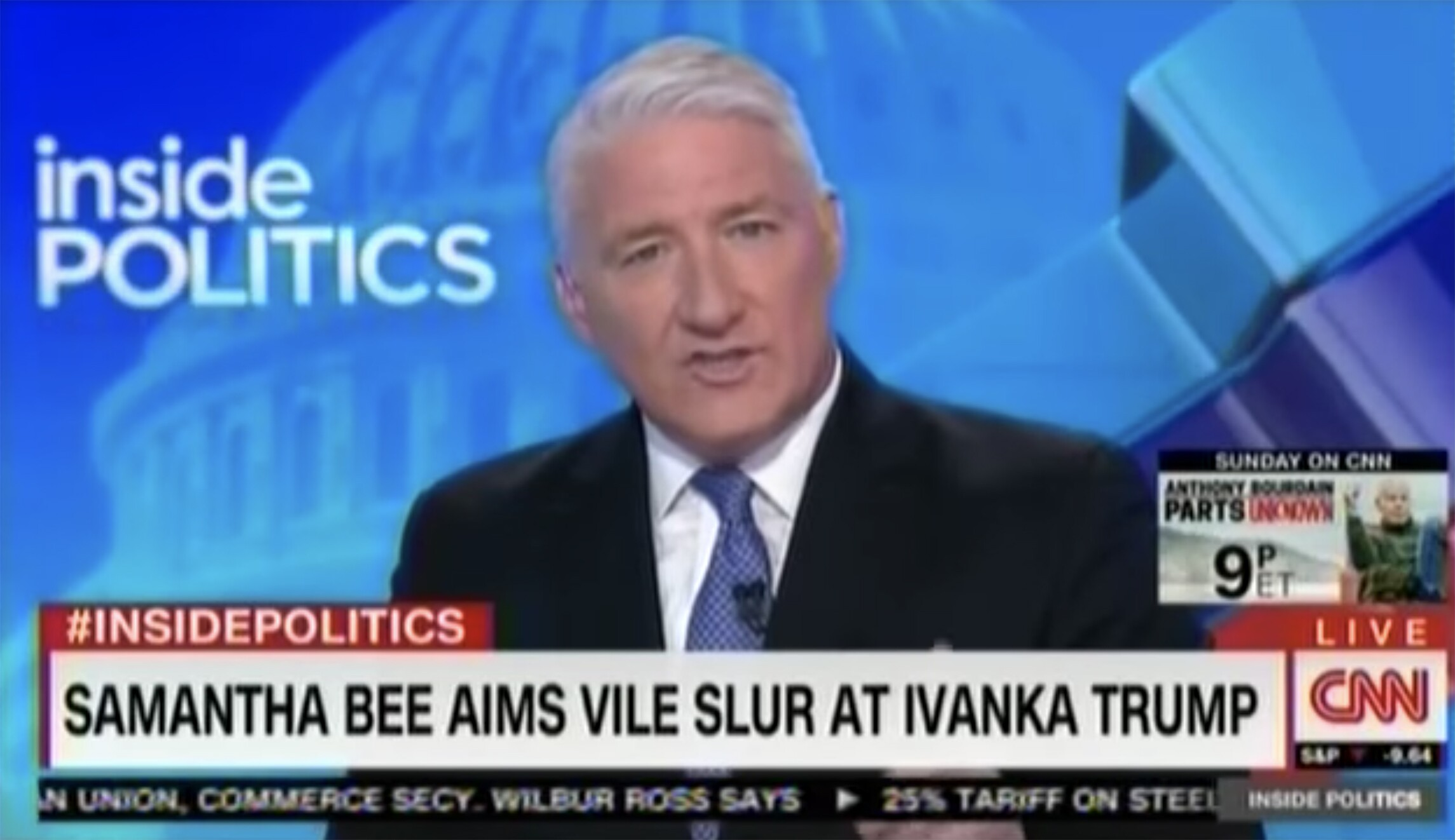 cnn anchor to parent company time warner on samantha bee controversy