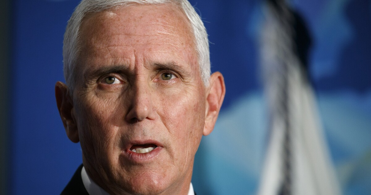 Interview: Pence declares only Trump can save America and its history from the mob