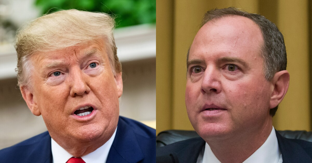 'You've betrayed America': Schiff fires back at Trump for blaming Russian 2020 interference leak on him
