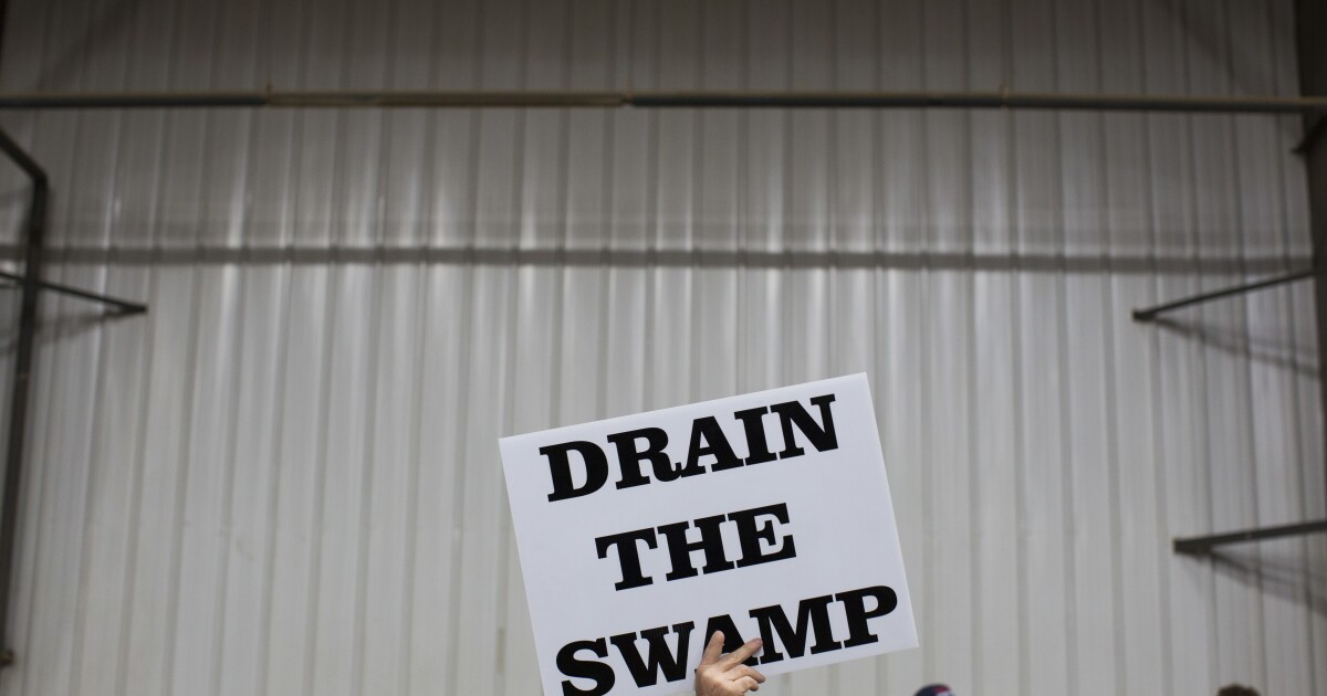Liberal Media Scream: Cheers for the coronavirus 'swamp'