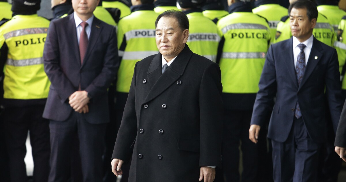 Kim Yong Chol's demotion would be very good news for America