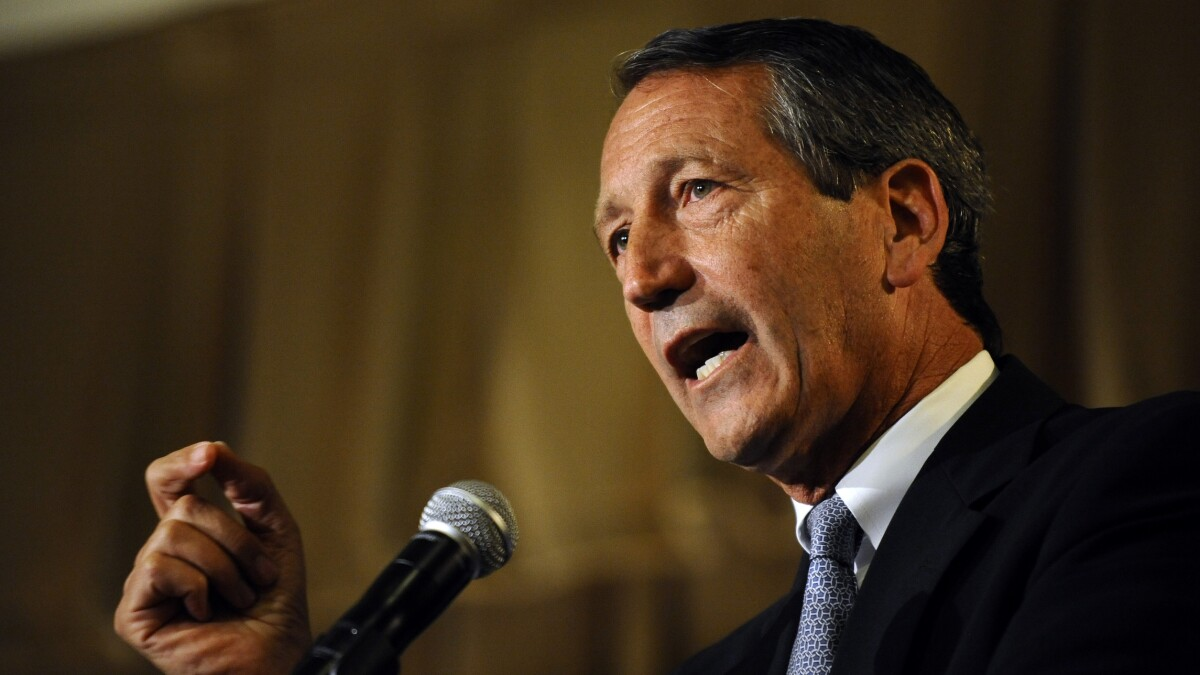 Mark Sanford prepared to be a human piñata in 2020 primary GOP fight against President Trump