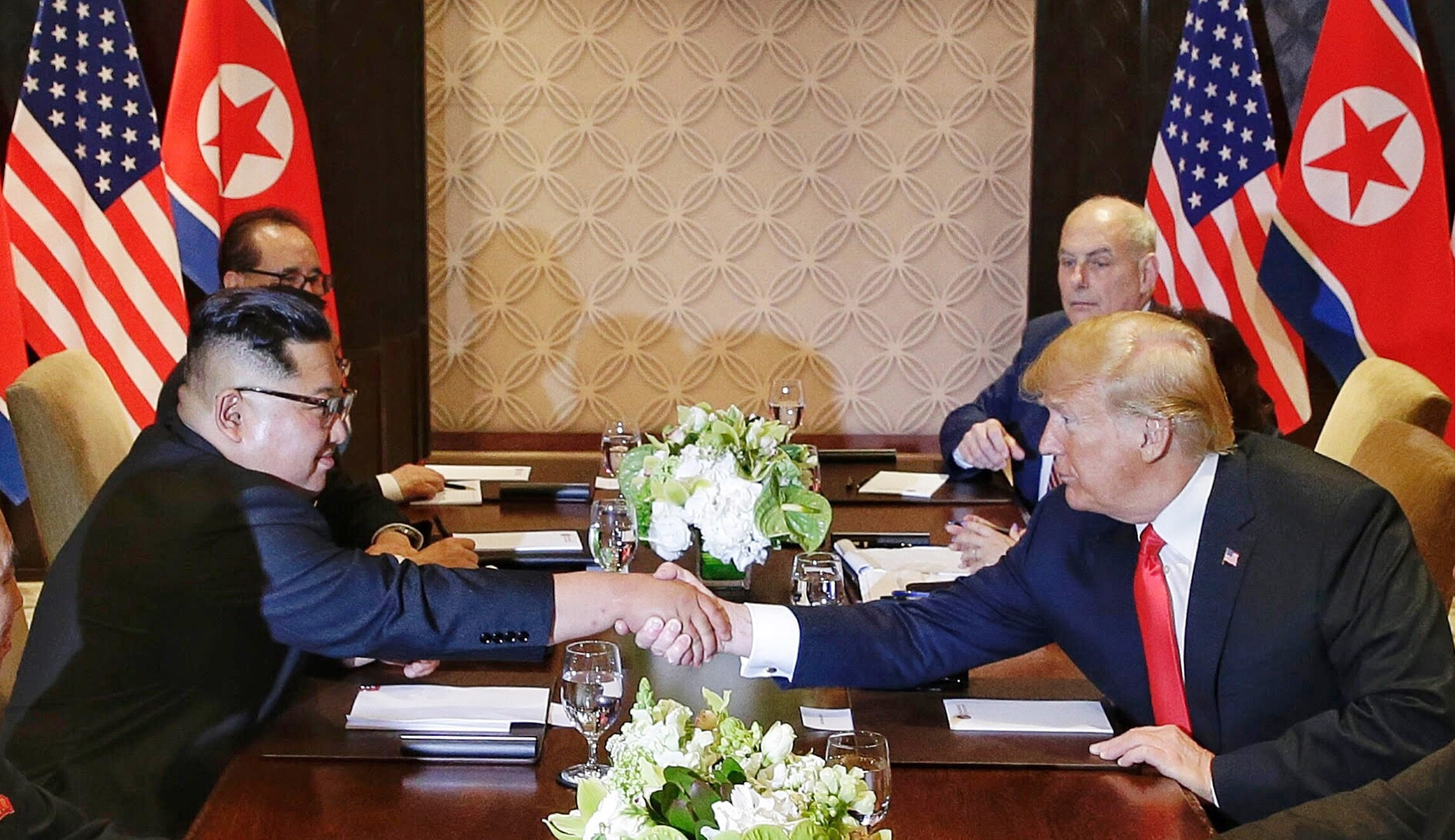 Image result for Trump-Kim Summit: Historic document signed