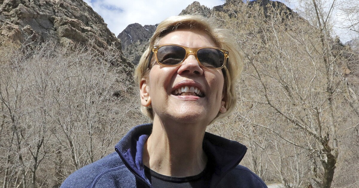 Warren sets climate litmus test with call to ban drilling on public lands
