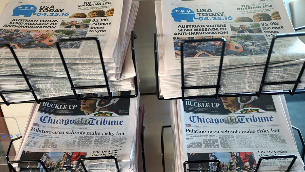 USA Today owner Gannett girds for proxy fight with unwanted