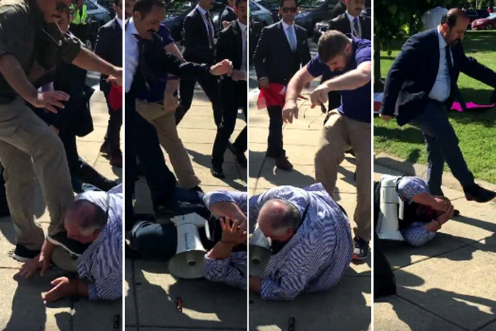 Erdoğan goons and US citizens they beat up poised for round two