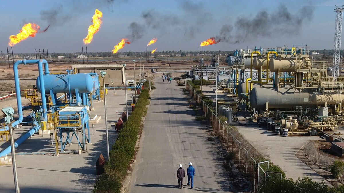 Rocket lands near ExxonMobil HQ in Iraq, wounding two