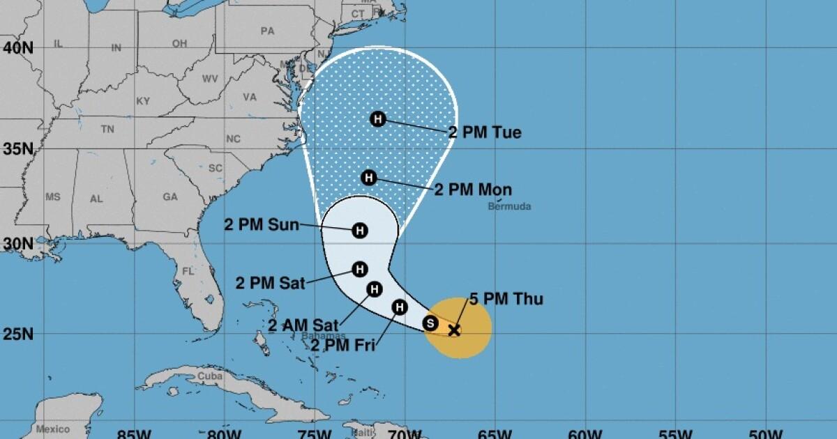 Tropical Storm Jose to escape Bermuda Triangle and threaten ...