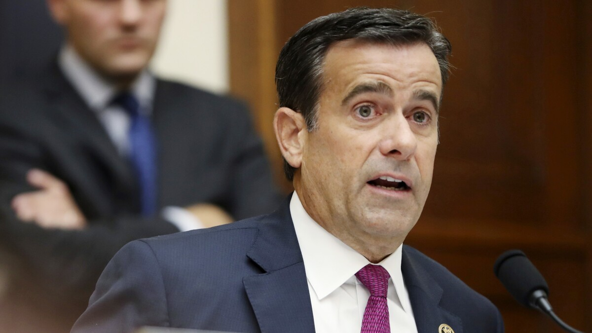 John Ratcliffe: FISA report coming out within 2 weeks