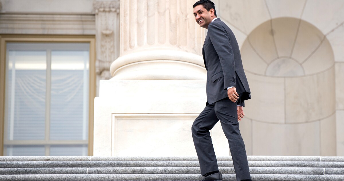 Rep. Ro Khanna likes some billionaires and supports...
