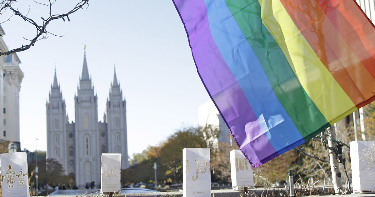 Mormon church introduces transgender 'restrictions' while softening stance on gay members