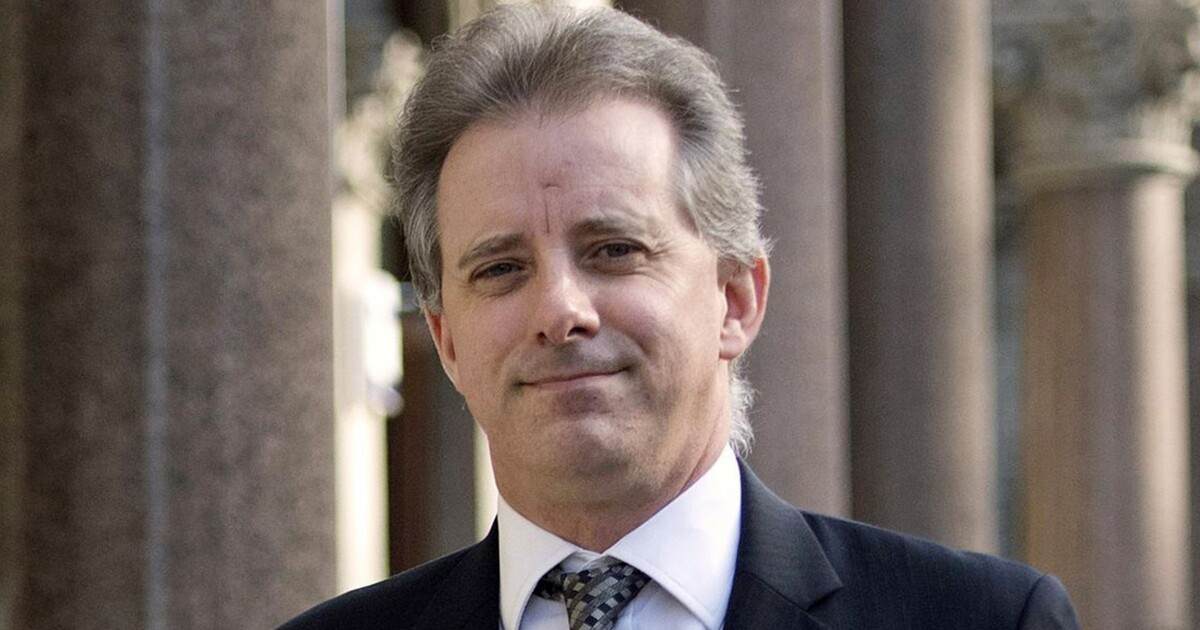 'False claims': Christopher Steele stands by dossier after Trump attacks