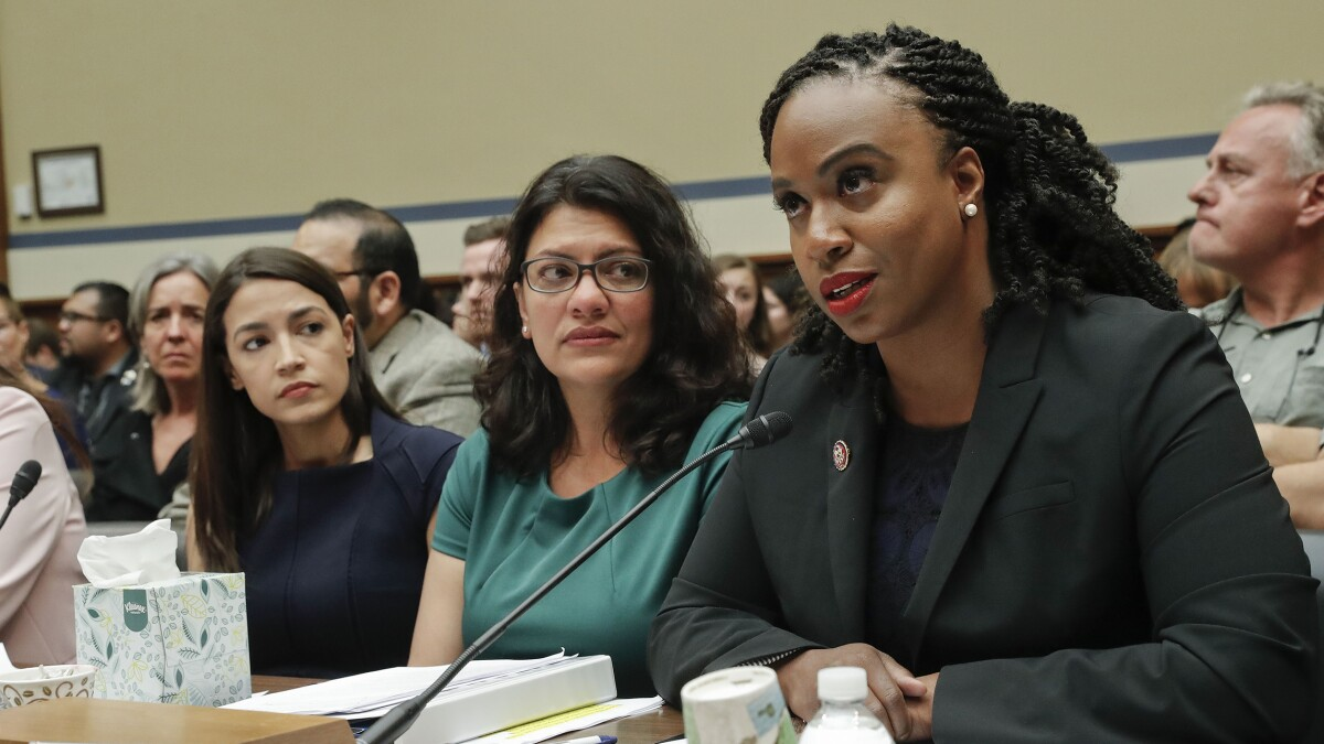 Rep. Pressley doesn't belong with AOC, Omar, and Tlaib
