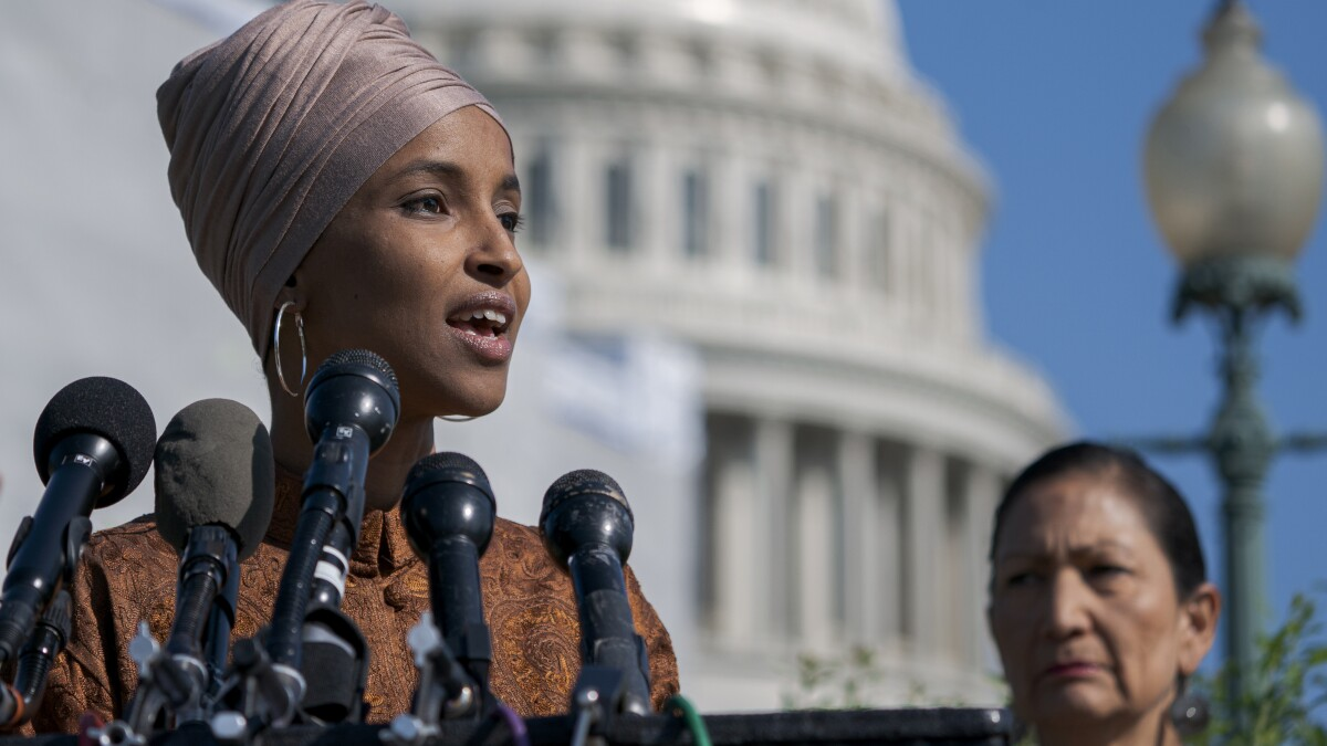 Ilhan Omar compares Israel to South Africa during apartheid