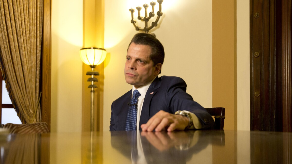 Anthony Scaramucci is the newest Never Trump hero