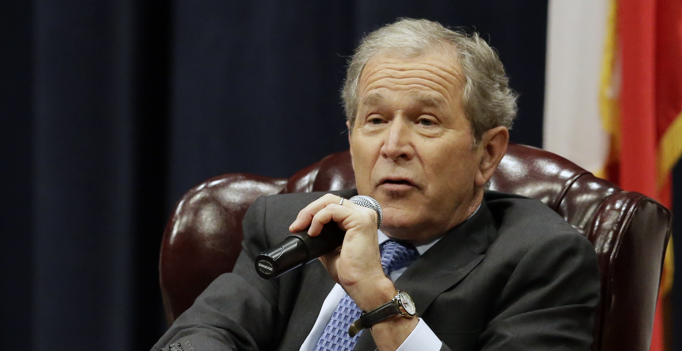 George W Bush Flubs Winston Churchill Quote
