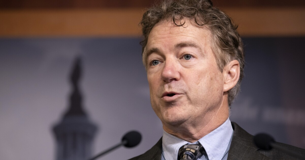 Rand Paul: One-third of Republicans will leave party if GOP senators go along with convicting Trump