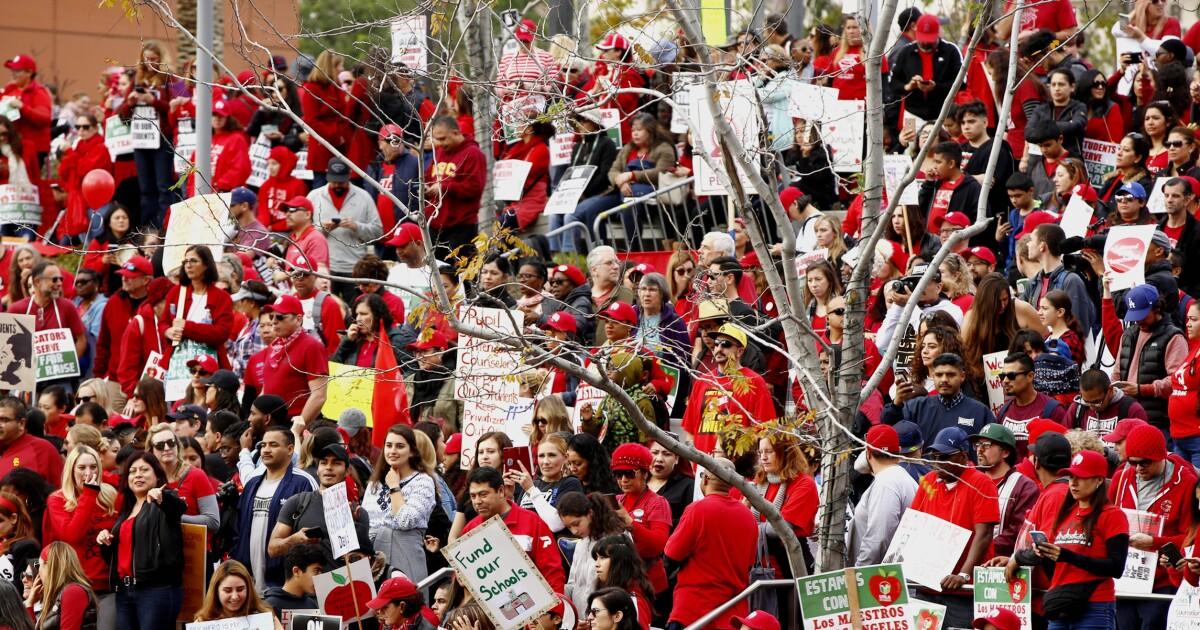 The Los Angeles teacher strike has a huge problem: Pensions
