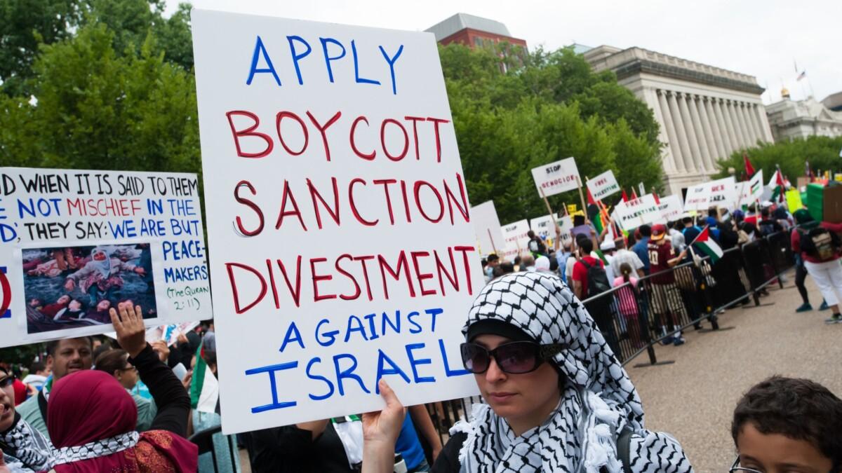 Beware the anti-Semitic underbelly of BDS