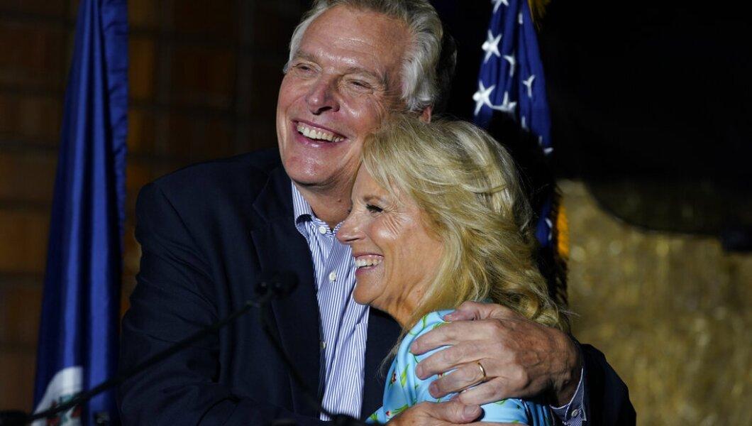 Jill Biden, Terry McAuliffe