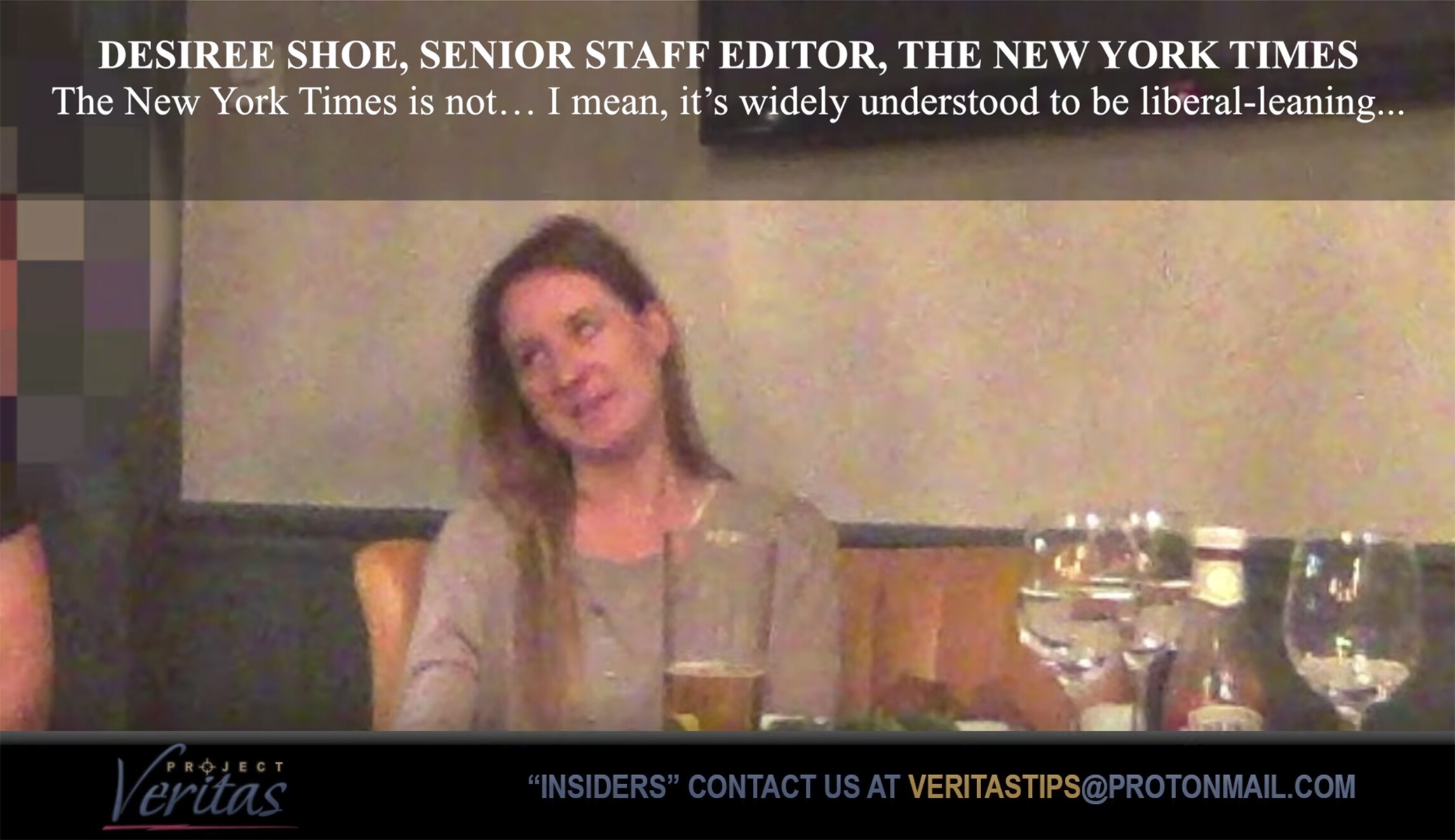 New York Times homepage editor caught on video calling Mike