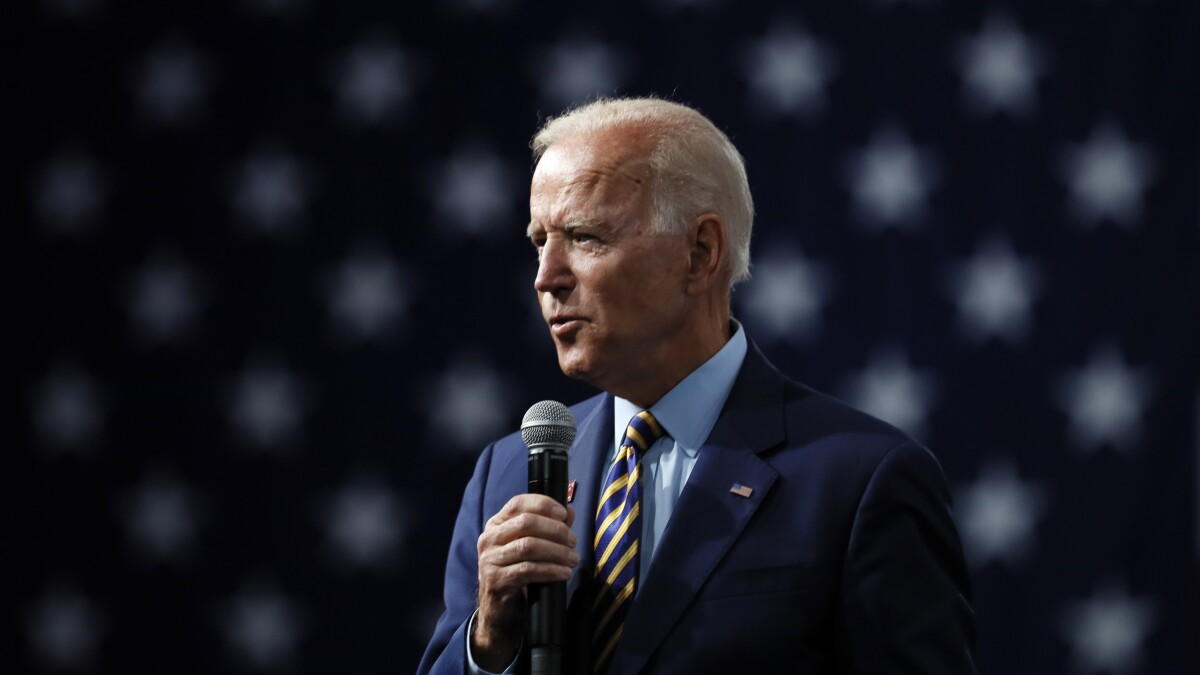 Biden says he'd prefer running mate who is not a white man