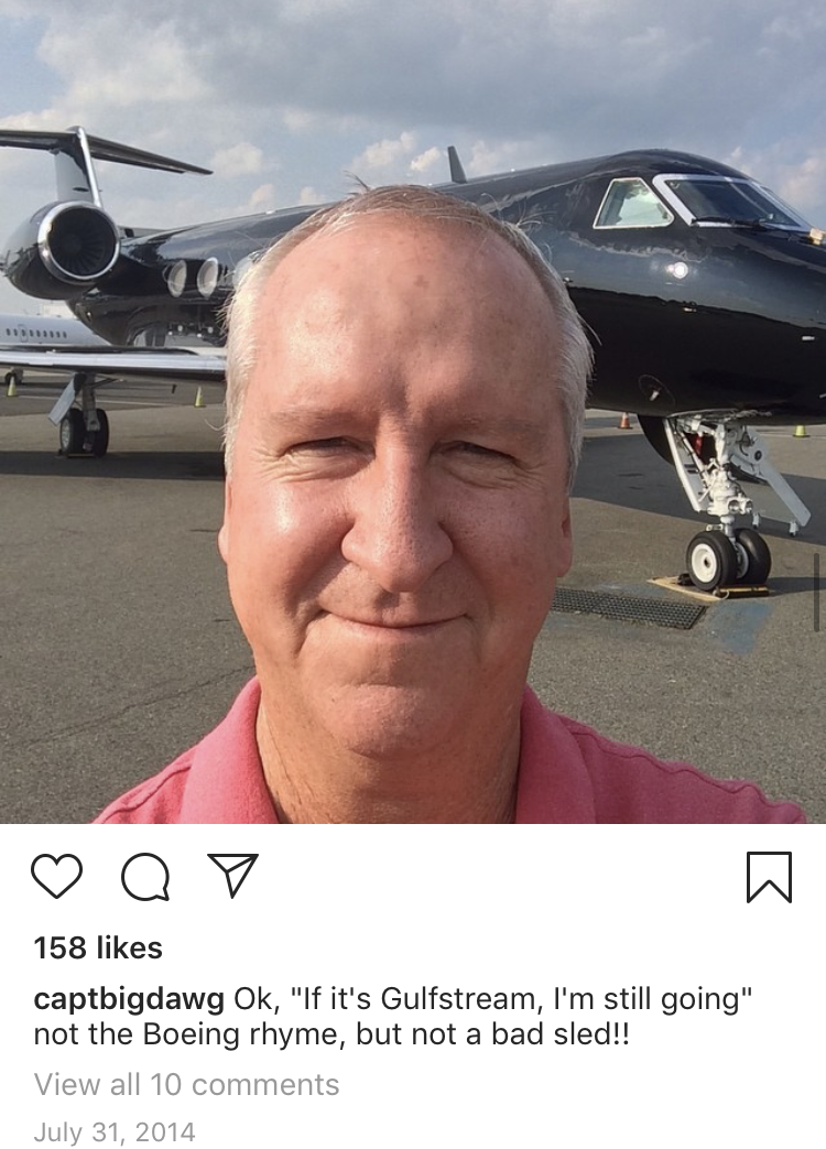 Pilot's deleted Instagram sheds light on jet-setting Epstein's travels