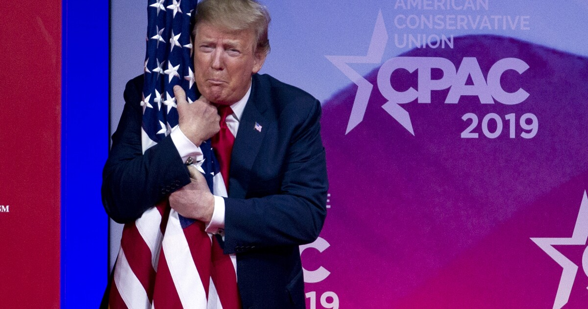 Trump 'all in' to outlaw burning of the American flag
