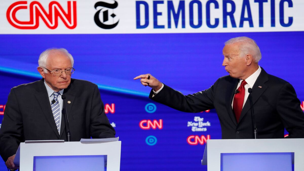China trade war goes unmentioned in Democratic debate