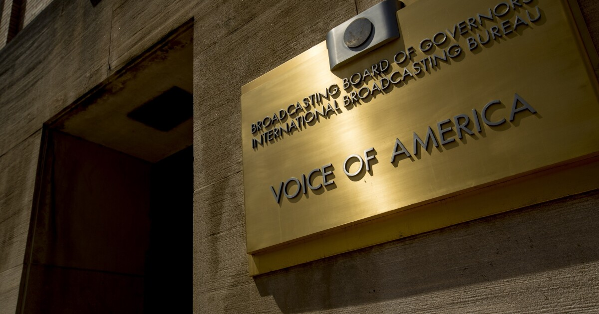 `Voice of One America` is against US law