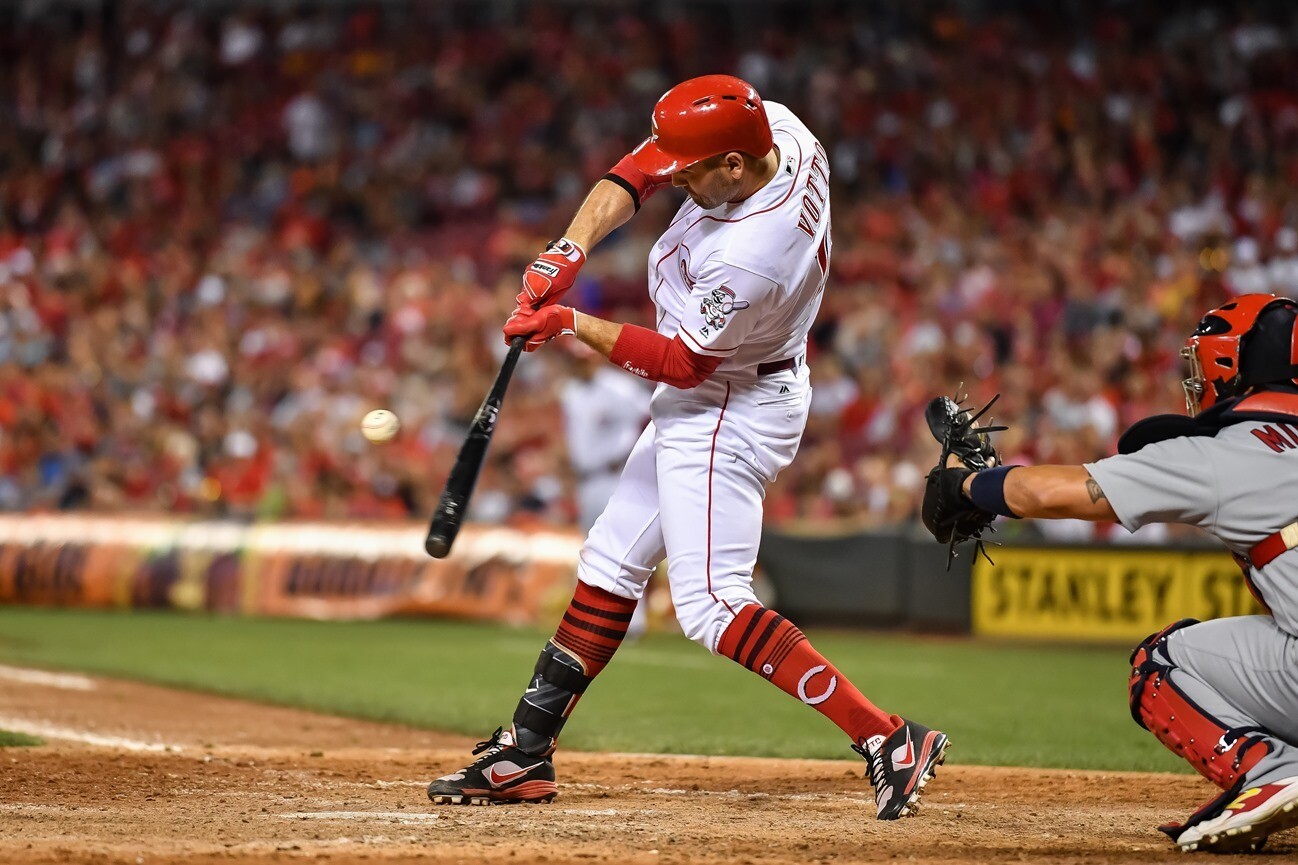 Joey Votto Is Ted Williams For Real This Time