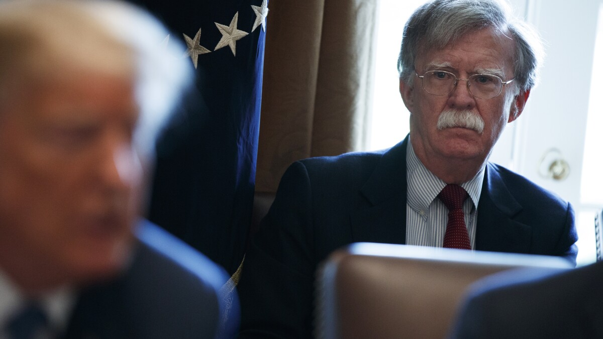 Trump Report Card: Bolton firing, debt, hotels cloud week
