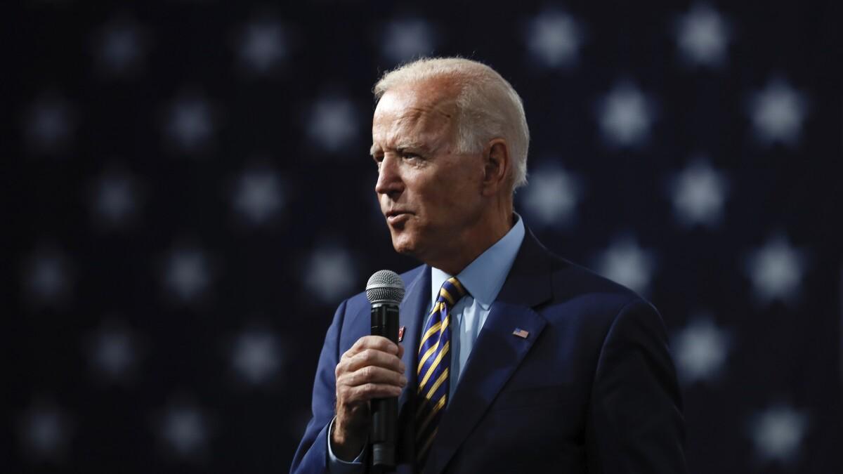 Biden campaign frets about Sanders fundraising