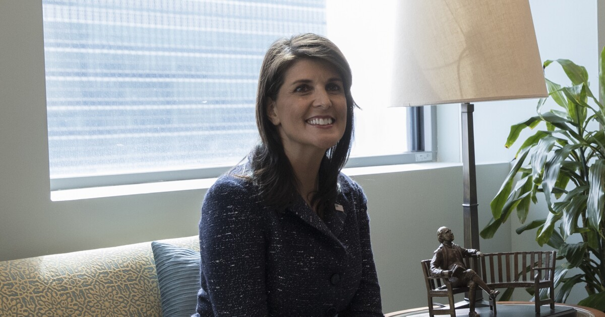$52,000 curtains for Nikki Haley's office were bought by Obama's State Department, not Trump's