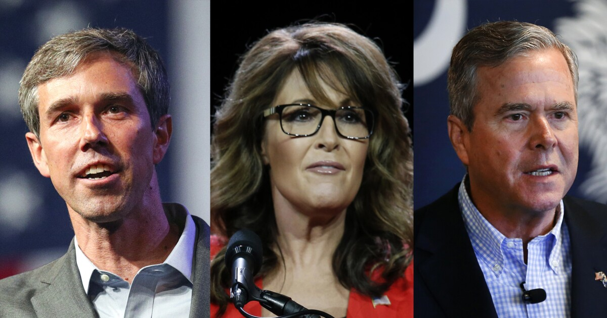 The Beto O'Rourke 2020 buzz is as real as 2012 Sarah Palin, 2016 Jeb Bush