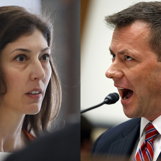 Lisa Page and Peter Strzok-062019