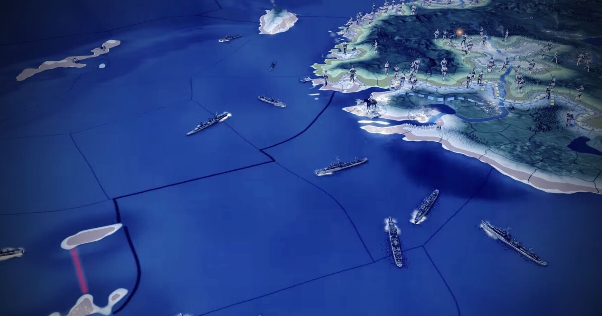 Hearts of Iron 4' is broken by its new naval system
