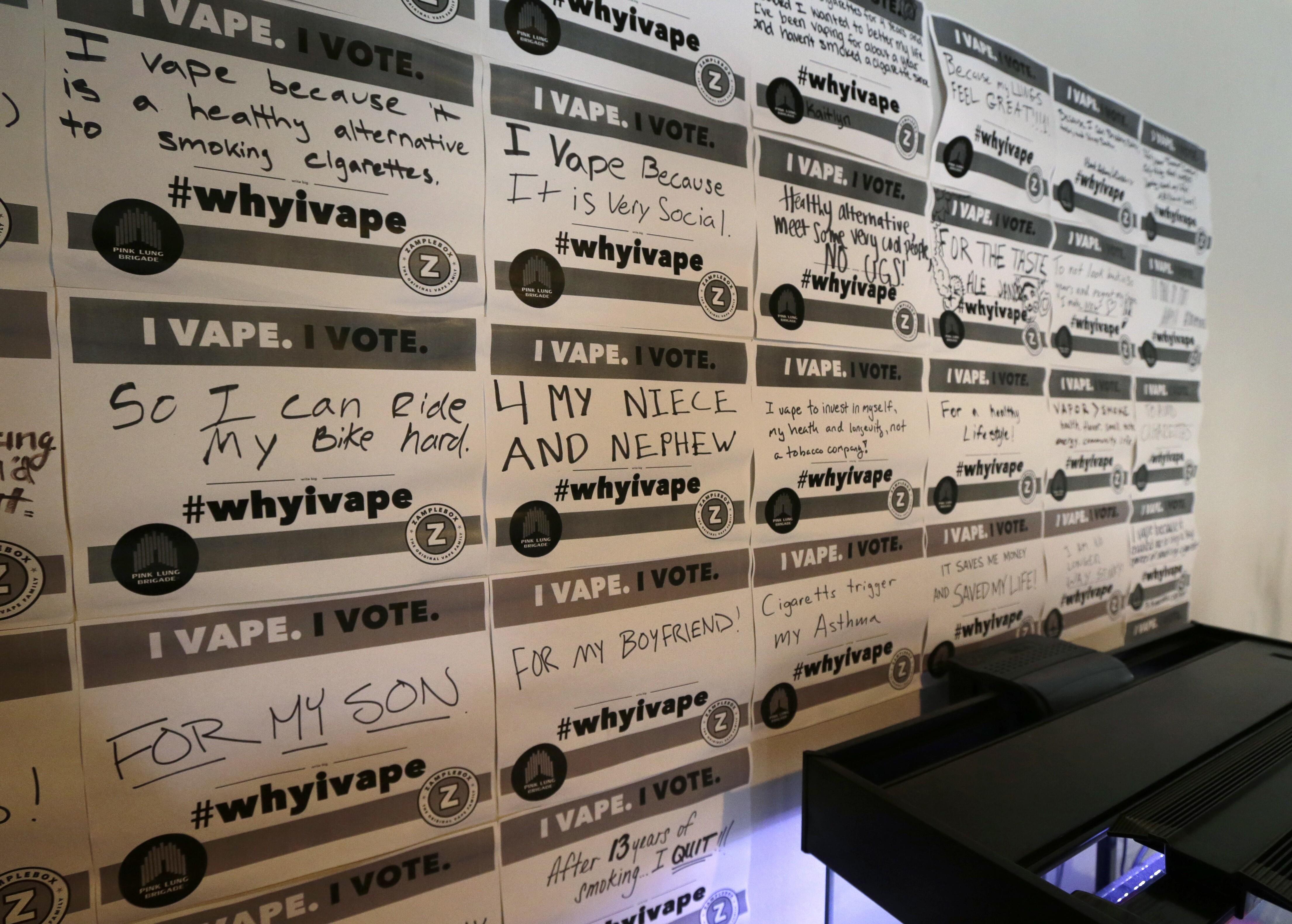 FDA urged to kill Obama's e-cigarette regs, $1M tax on vape