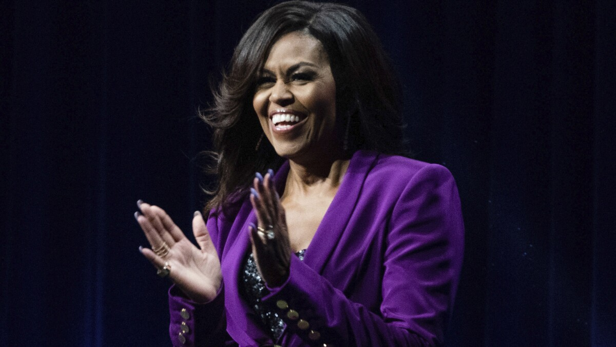 Poll: Michelle Obama front-runner in New Hampshire if she runs