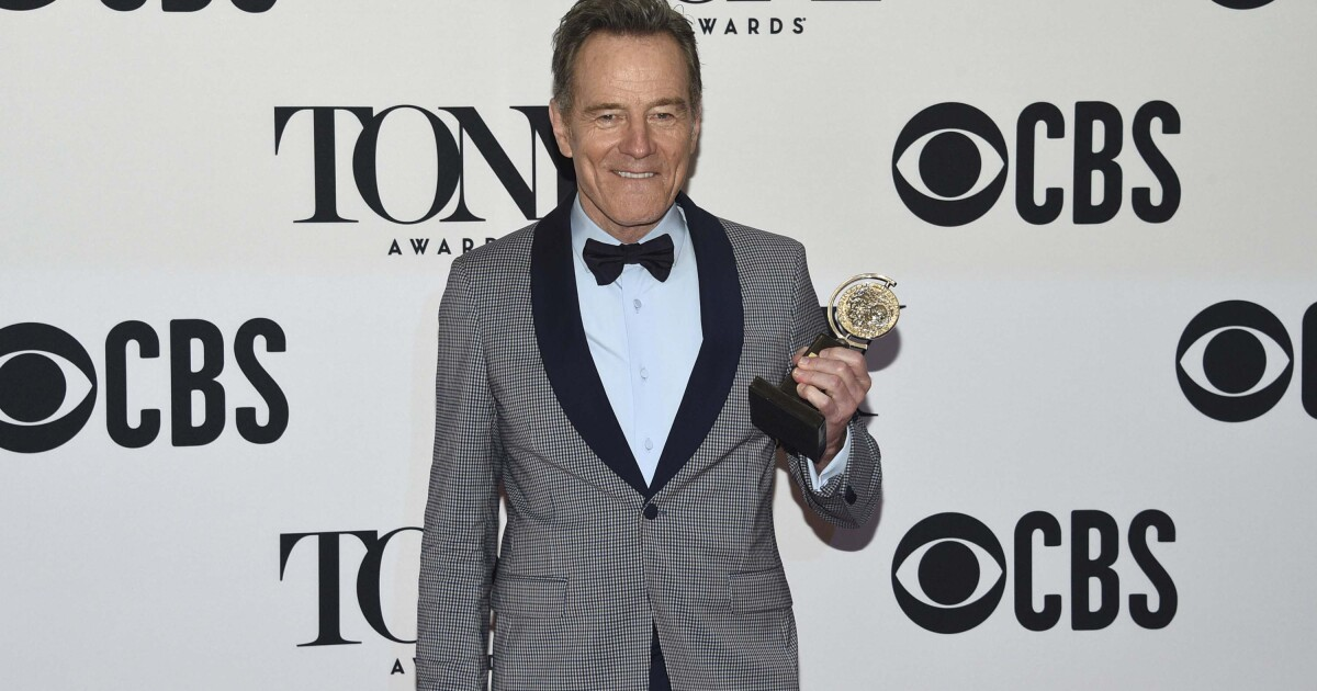 Why is Bryan Cranston apologizing for being old and white?
