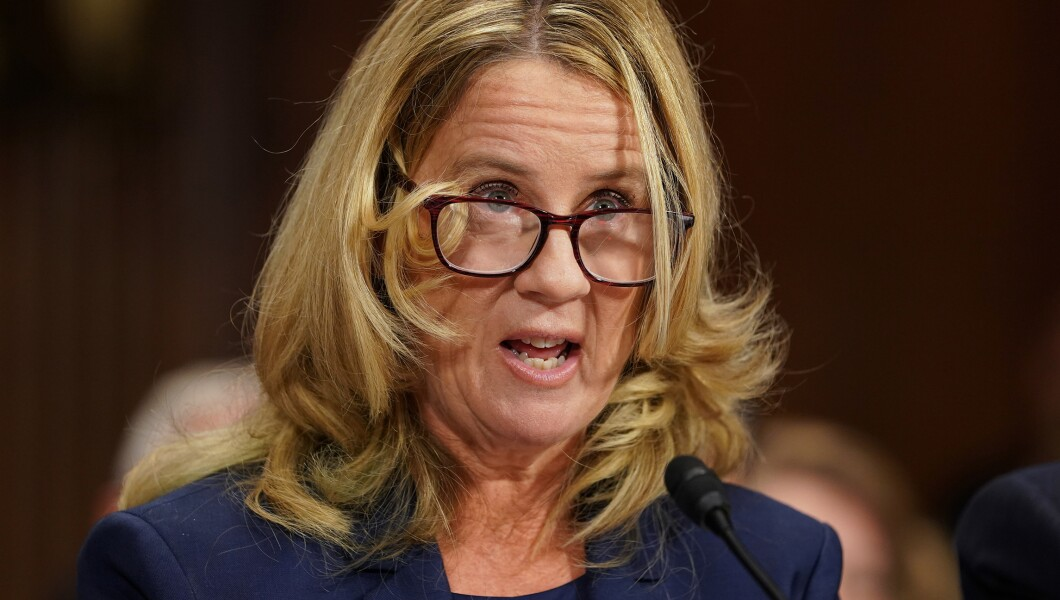 christine blasey ford 092718 - Christine Lders Lebenslauf