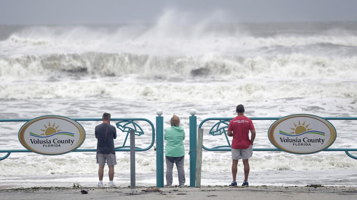 Hurricane Dorian strengthening as it gets 'dangerously close' to Southeast coast