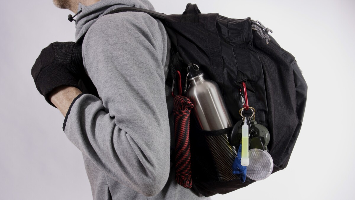 The bug-out bag is in the dictionary; it should be in your closet, too